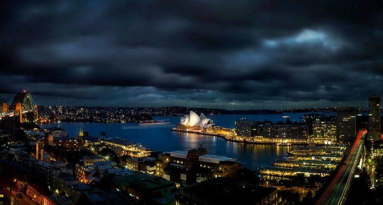 сидней австралия панорама